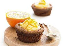 Muffiny z pomarańczową śmietaną - ugotuj