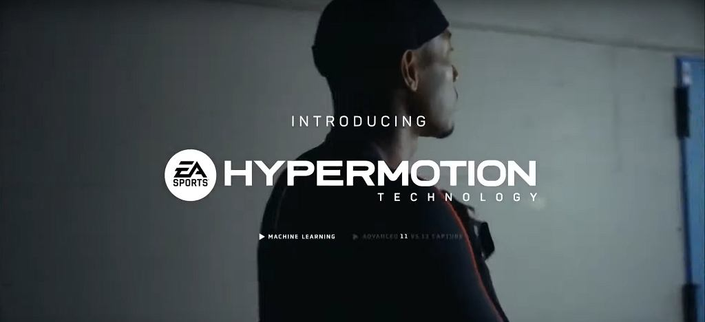 Technologia HyperMotion w grze FIFA 22