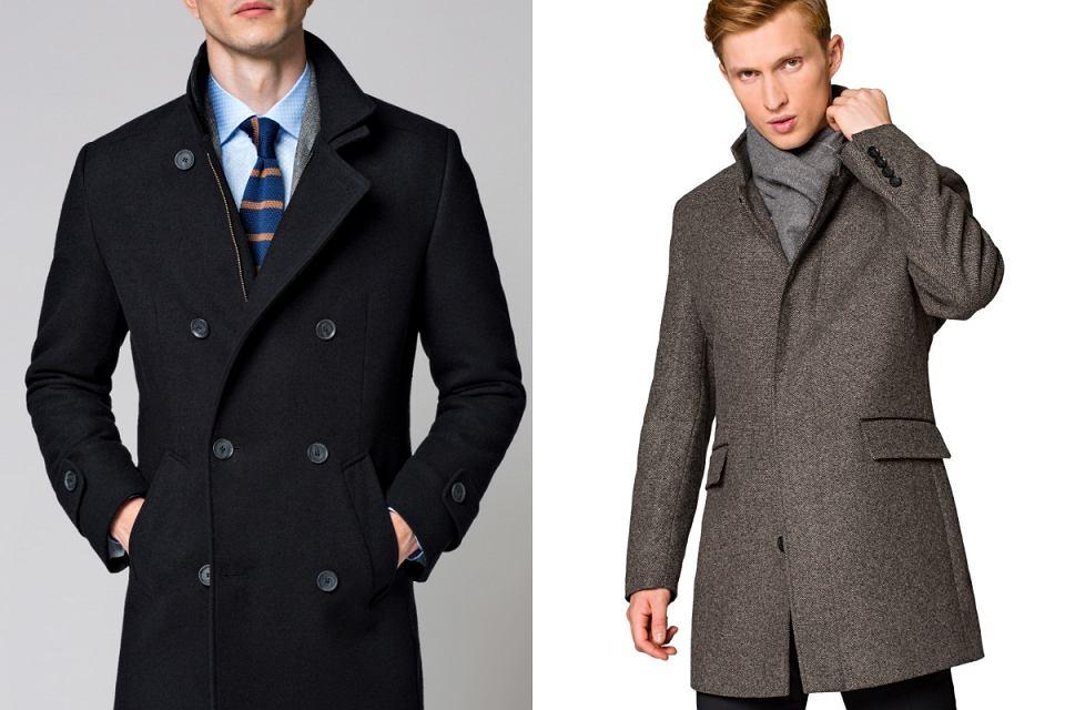 Klasyczne płaszcze męskie