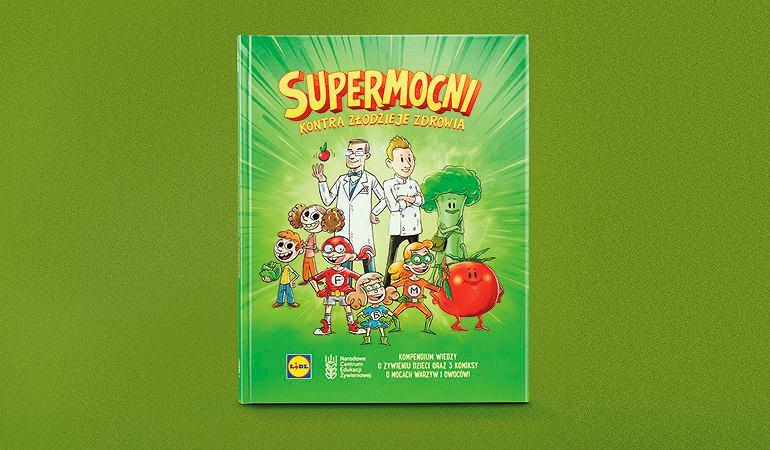 Komiks Supermocni Lidl