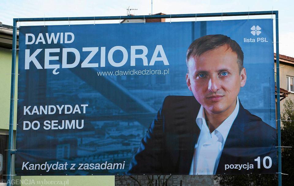 Radny Dawid Kędziora Szefem Psl W Kielcach