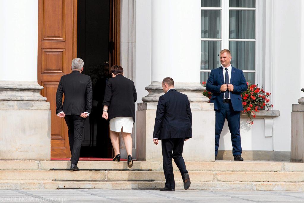 Spotkanie w Belwederze trwało półtorej godziny