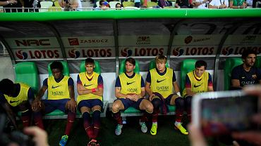 Lechia Gdańsk - FC Barcelona 2:2