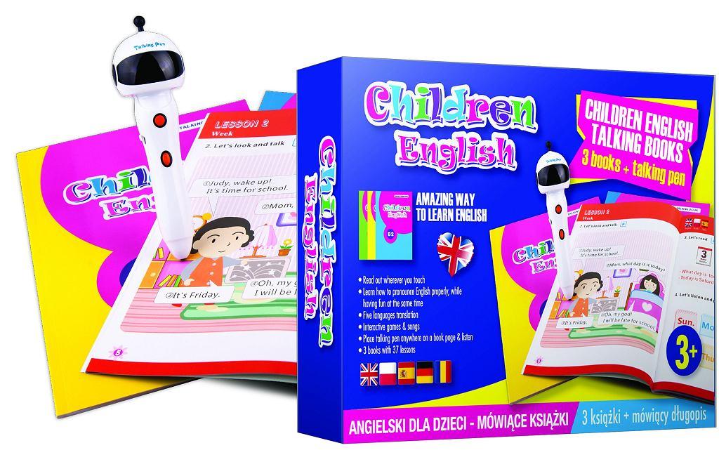 Mówiące Książki. Angielski dla dzieci