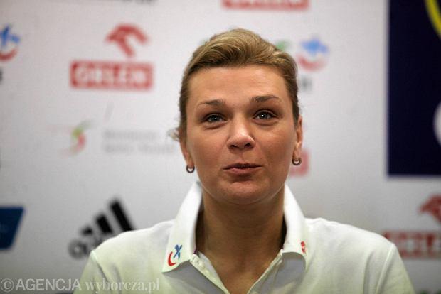 Małgorzata Glinka-Mogentale: Niech tylko trener Nawrocki nic nie mówi