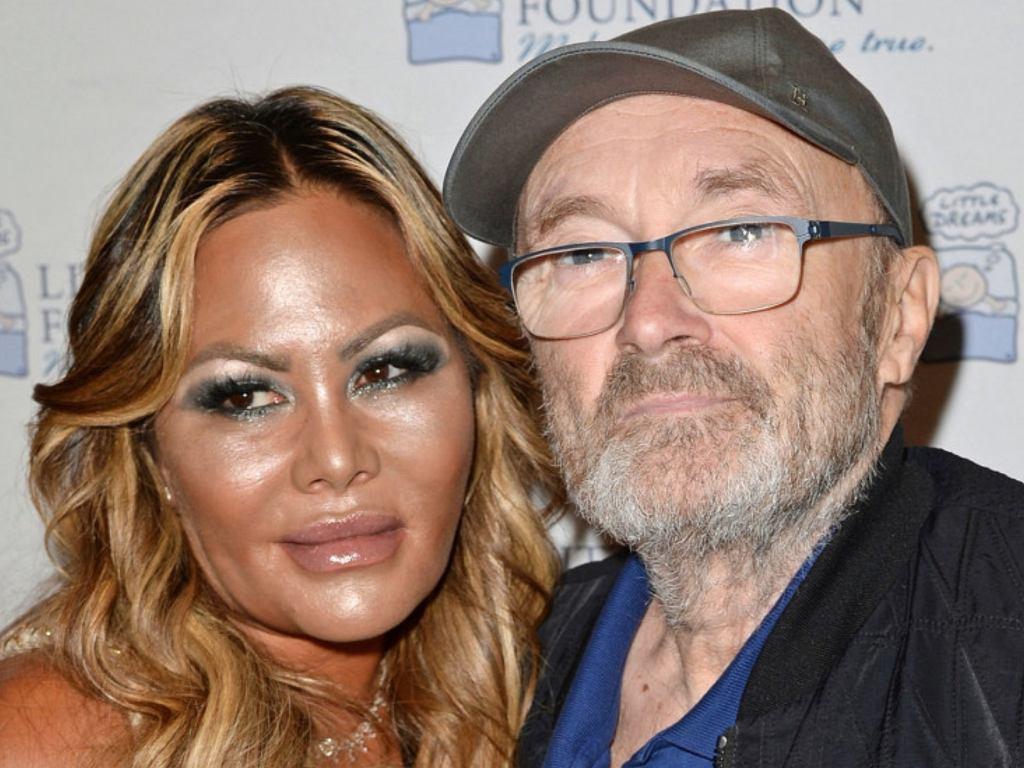 Phil Collins z byłą żoną
