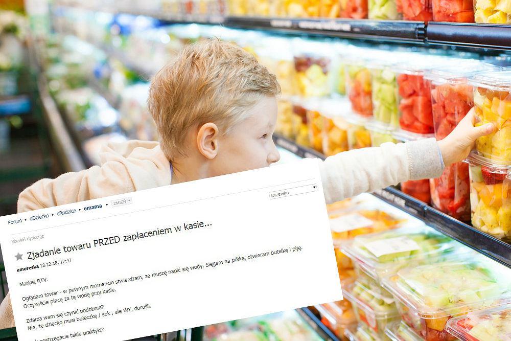 Zdarza się wam jeść w sklepie, zanim zapłacicie?