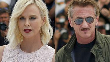 Charlize Theron i Sean Penn na festiwalu w Cannes