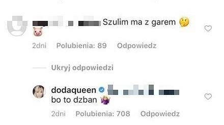 Doda kontra Agnieszka Woźniak-Starak