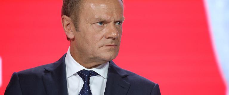 """Donald Tusk: """"Jest za późno na impeachment Donalda, przynajmniej europejskiego"""""""