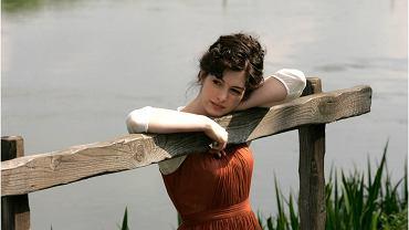 Anne Hathaway  jako Jane Austen w filmie 'Zakochana Jane'