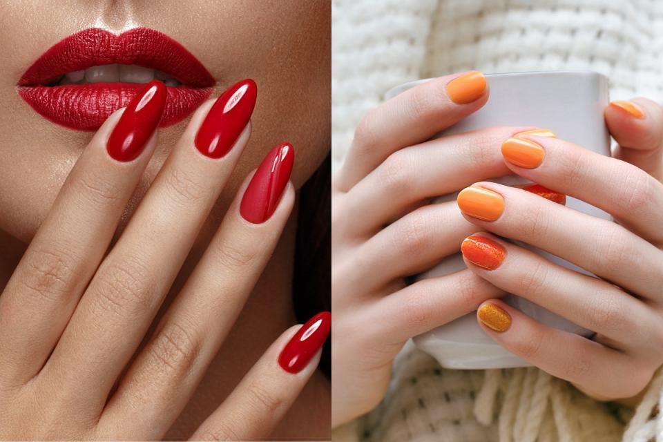 Modne kolory paznokci w odcieniach jesieni