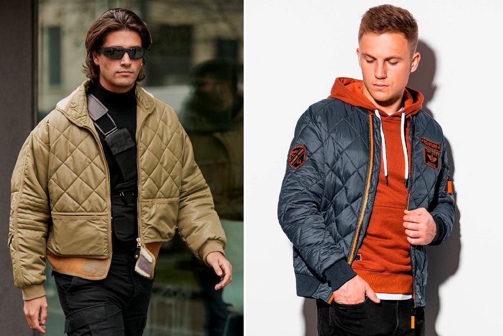 Pikowane kurtki na jesień