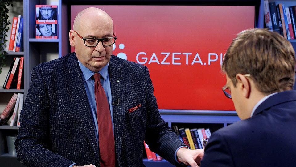 Piotr Zgorzelski w porannej rozmowie Gazeta.pl