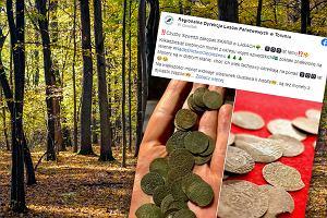 """Niezwykłe znalezisko w lasach pod Toruniem. """"Czyżby Szwedzi zakopali skarb?"""""""
