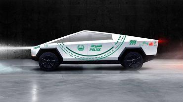 Tesla Cybertruck w wersji dubajskiej policji