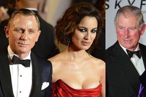 Daniel Craig, Berenice Marlohe, książę Karol.