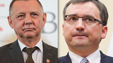 Marian Banaś, szef NIK/ Zbigniew Ziobro, minister sprawiedliwości