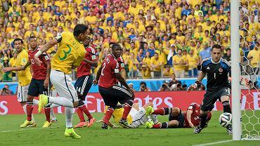 Brazylia - Kolumbia 2:1