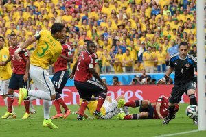 MŚ 2014. Brazylia - Kolumbia. Dzień brazylijski