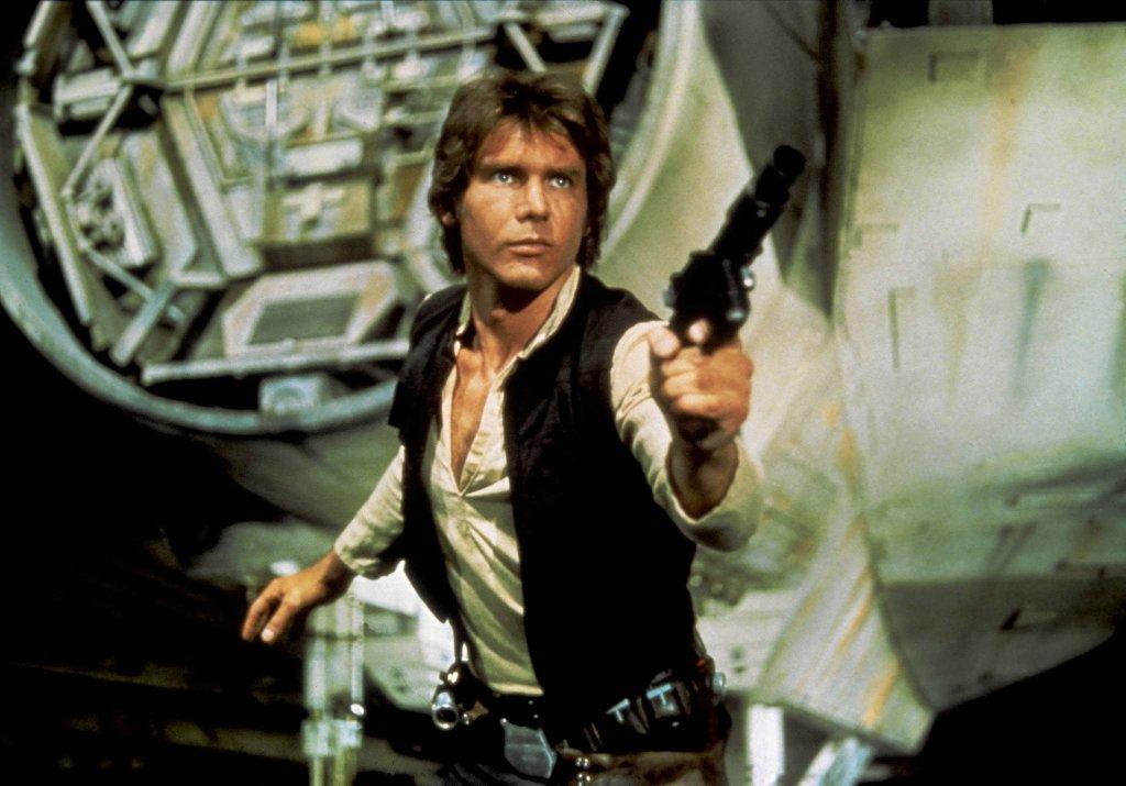 Harrison Ford jako Han Solo w