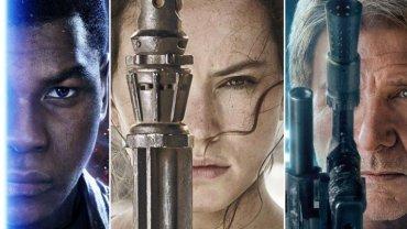 """Plakaty z bohaterami """"Gwiezdnych wojen: Przebudzenia mocy"""""""