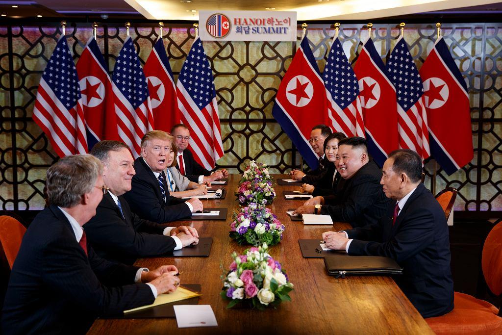 Szczyt Donald Trump - Kim Dzong Un w Hanoi