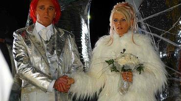 Michał Wiśniewski i Marta 'Mandaryna' Wiśniewska - ślub w Kirunie