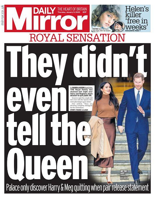 Meghan i Harry nie powiedzieli królowej o swojej decyzji