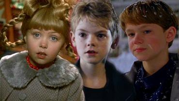 Młodzi aktorzy z świątecznych filmów