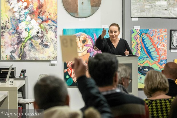 Zdjęcie numer 0 w galerii - Aukcja Młodej Sztuki. Za te obrazy zapłacono najwięcej