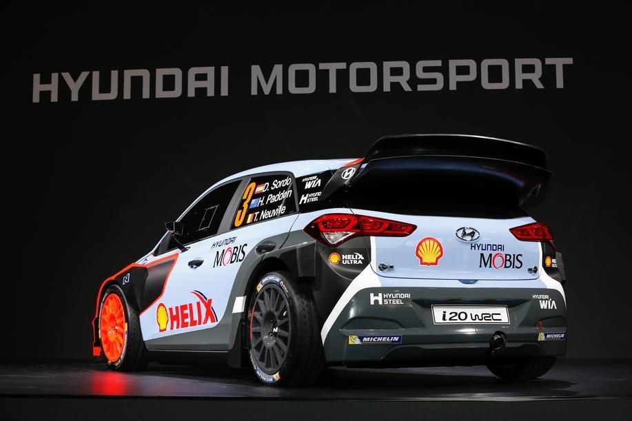 Nowy Hyundai i20 WRC