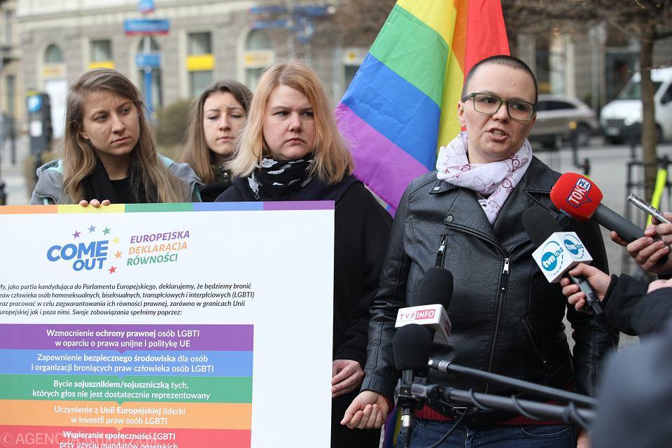 Konferencja środowiska LGBTI na temat Europejskiej Deklaracji Równości, Warszawa, 21 marca 2019 r.