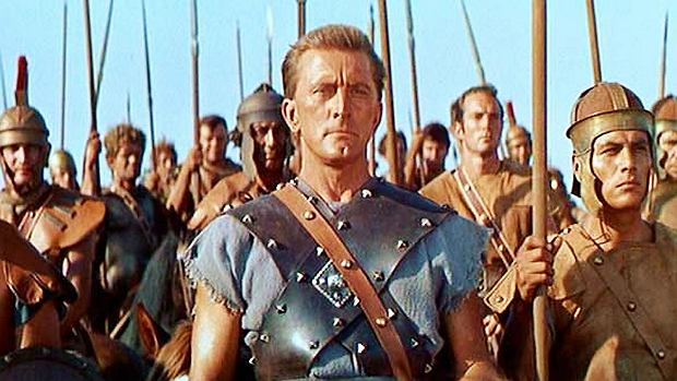 Kirk Douglas w filmie 'Spartakus'