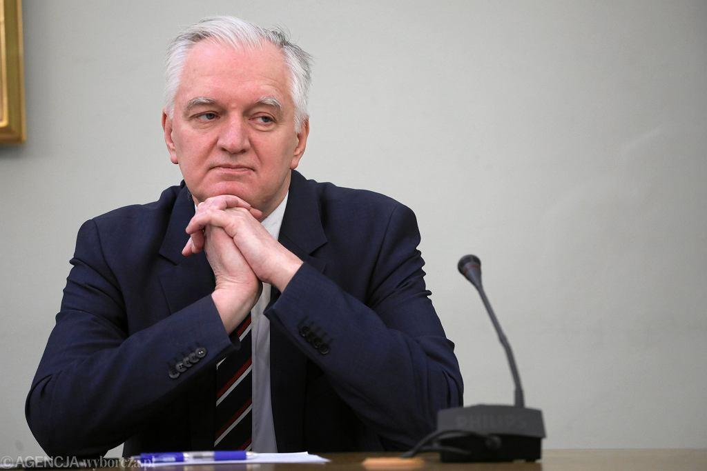 Minister Jarosław Gowin przed Komisją ds VAT w Sejmie