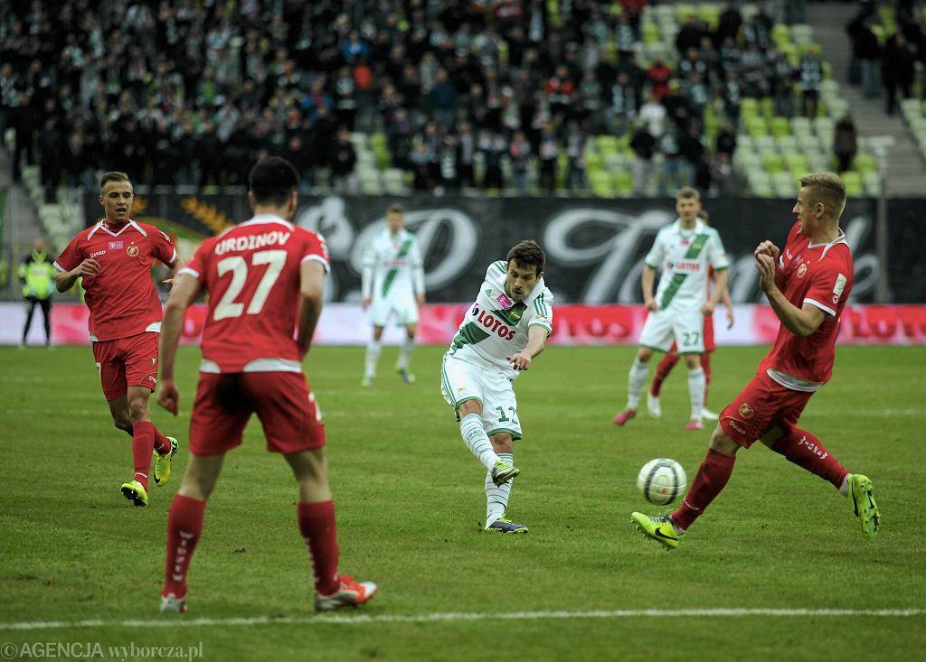 Lechia - Widzew 2:0. Strzela Maciej Makuszewski