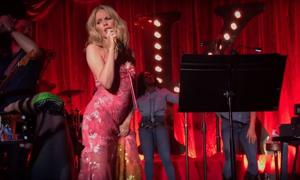Kylie Minogue 'New York City' - Song debut @ The Bowery Ballroom, NYC, 6/25/18