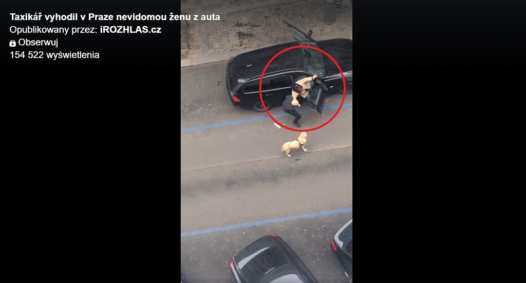Czechy. Kierowca Bolta wyrzucił niewidomą na środku jezdni, bo wsiadła auta z psem przewodnikiem