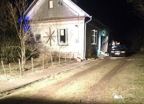 Pożar w domu w Leżachowie. Nie żyje 30-letni mężczyzna.