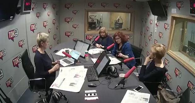 Eliza Olczyk, Anna Dryjańska, dr Anna Materska-Sosnowska w 'Poranku Radia TOK FM' Doroty Warakomskiej