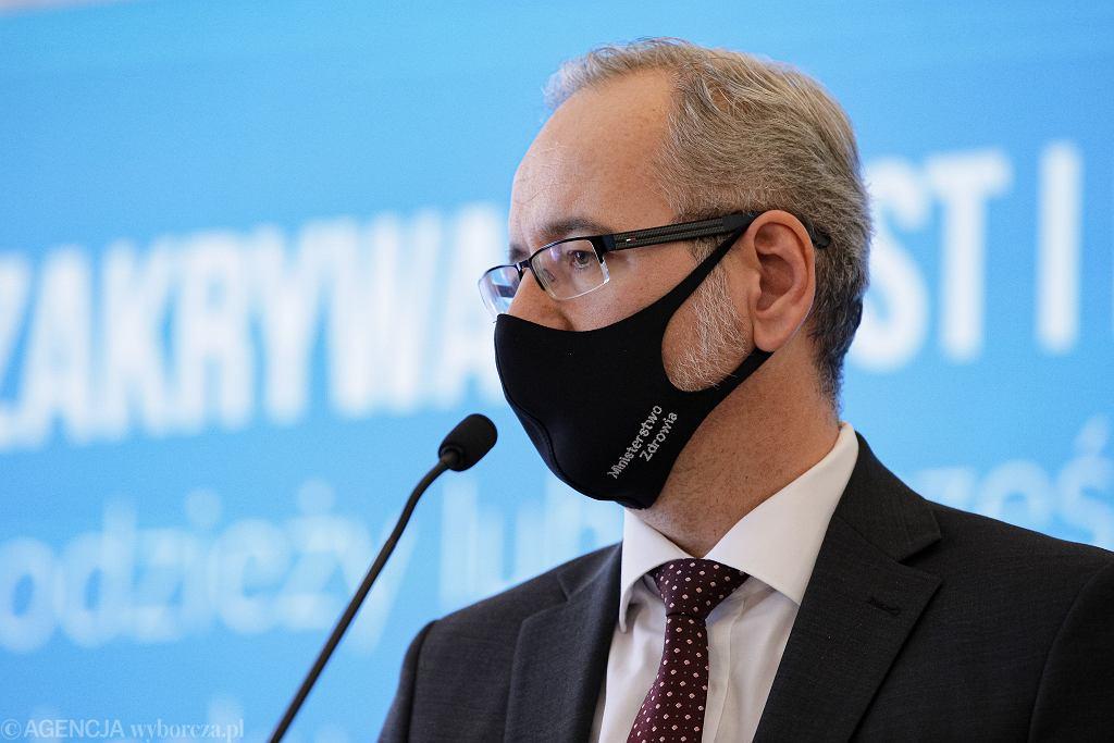 BKonferencja prasowa Ministra Zdrowia i Komendanta Glwnego Policji
