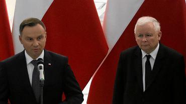 Andrzej Duda, Jarosław Kaczyński