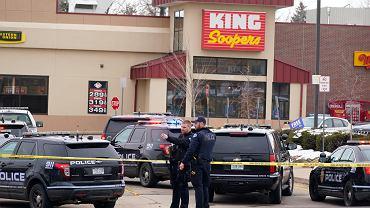 W strzelaninie w Boulder zginęło 10 osób, w tym policjant, 22.03.2021
