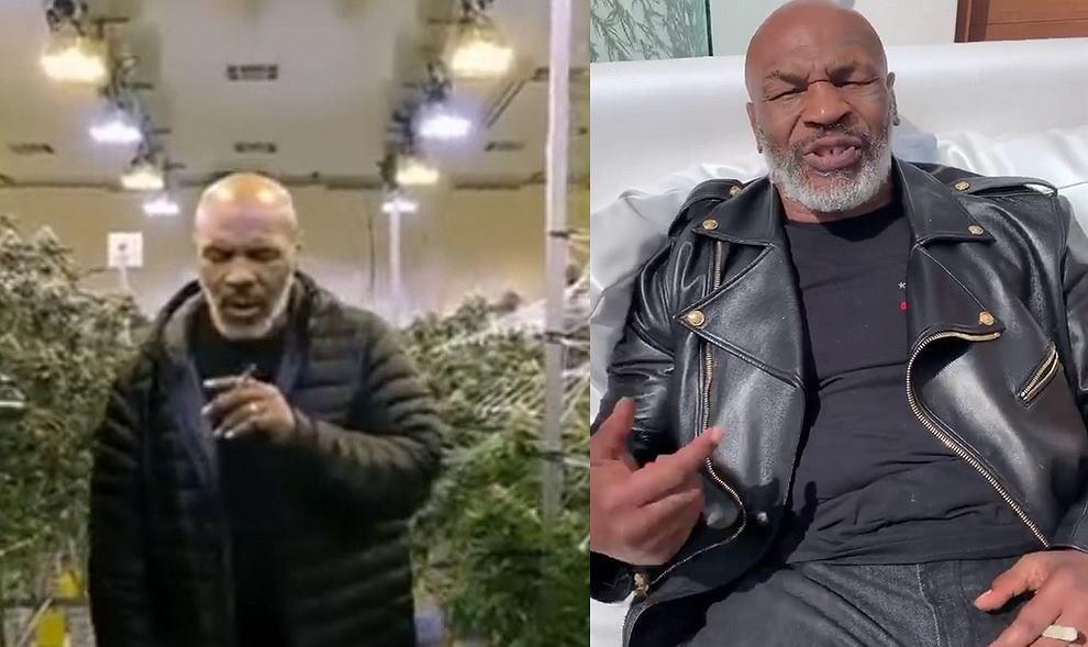 Mike Tyson pali jointa z okazji światowego dnia marihuany