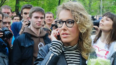 Dziennikarka rosyjska Ksenia Sobczak