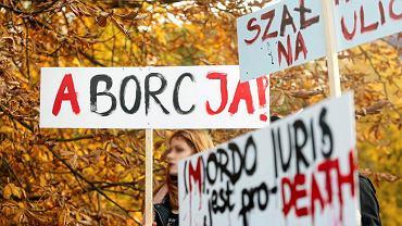 24.10.2016, Strajk kobiet w Katowicach.