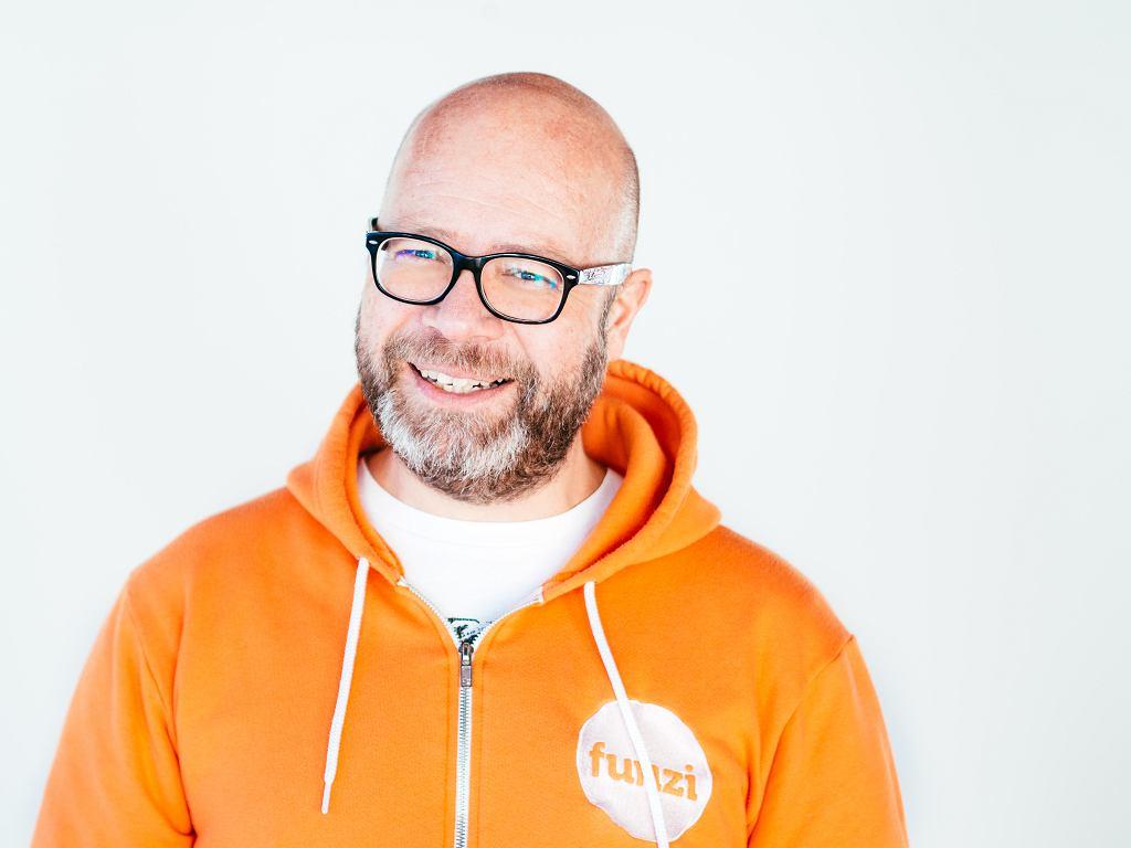 Aape Pohjavirta, creator of the mobile learning system Funzi.fi