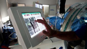 Badanie kardiologiczne w szpitalu