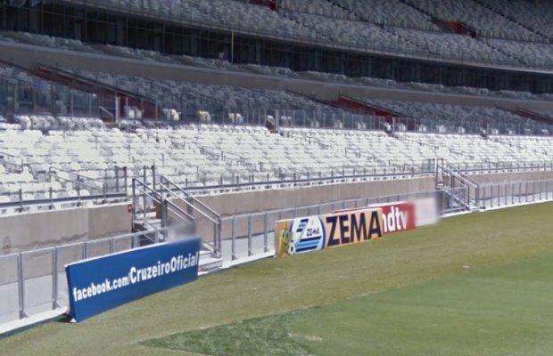 Stadion Mineirao w Belo Horizonte