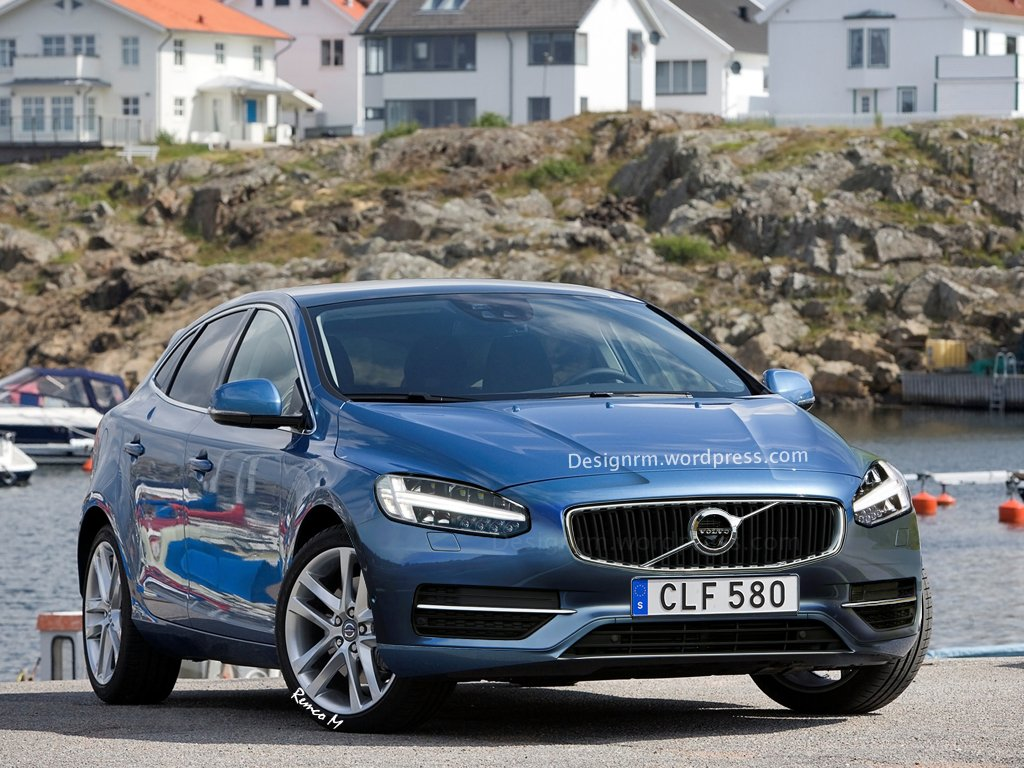 Wizja Volvo V40 FL